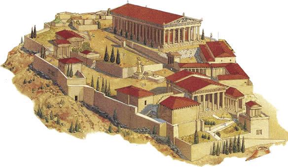 La polis griega la historia y otros cuentos Casas griegas antiguas
